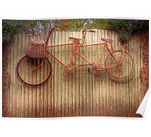 Hung up for Winter - Murray Bridge, Murraylands, SA Poster