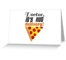 I Could Really Go for Some Mini Pizzas Right Now... Greeting Card