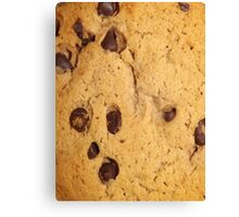 CHOCOLATE CHIP COOKIE (Textures) Canvas Print