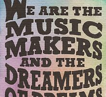 The Music Makers by Jade Jones