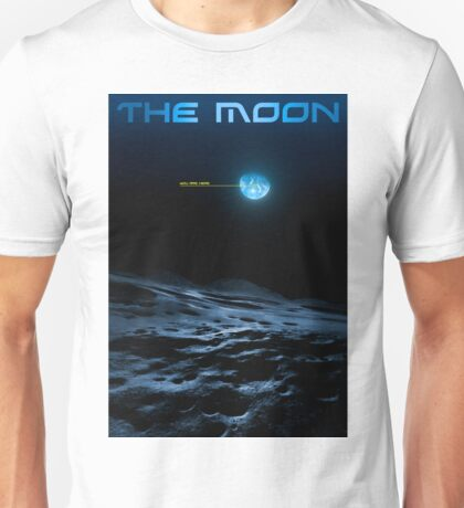 Earth from the Moon - You Are Here T-Shirt