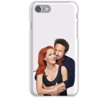 I want to believe - Mulder and Scully iPhone Case/Skin