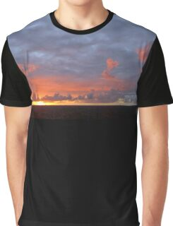 Amazing Sunset Clouds Graphic T-Shirt