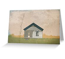 Frankfort Building Illustration Greeting Card