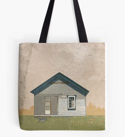 Frankfort Building Illustration Tote Bag