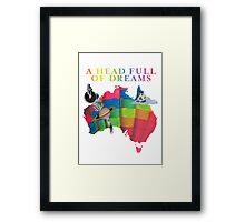 AHFOD Tour - Australia Framed Print