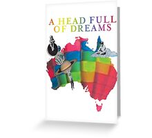 AHFOD Tour - Australia Greeting Card