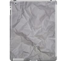 CRUMPLED PAPER (Textures) iPad Case/Skin