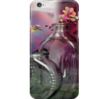 Still Life With Ribbed Glass iPhone Case/Skin