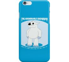 The Abominable Snowman  iPhone Case/Skin