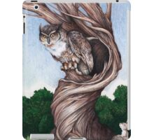 Hoo goes there? iPad Case/Skin