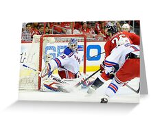 Henrik Lundqvist  Greeting Card
