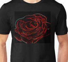 Glowing Rose  Unisex T-Shirt