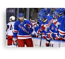 Rick Nash Canvas Print