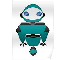 Robot Character #139 Poster