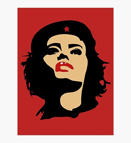 Che Guevara - Girls Edition Photographic Print