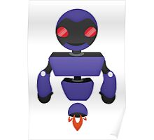 Robot Character #135 Poster