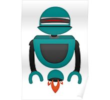 Robot Character #123 Poster