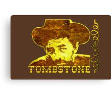 Western Tombstone Canvas Print