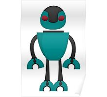 Robot Character #118 Poster