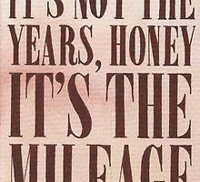 It's The Milage by Jade Jones