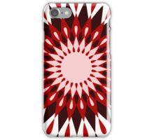 Sun Flower Retro Pattern iPhone Case/Skin