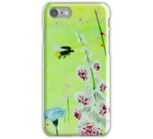 Buzzing Meadow iPhone Case/Skin