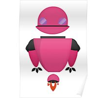 Robot Character #112 Poster