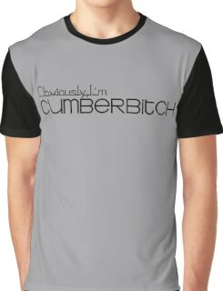Obviously I'm Cumberbitch Graphic T-Shirt