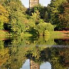 St. Mary's Church from across Lymm Dam by Chris Monks