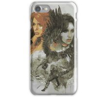 The Witcher - Ciri and Yennefer iPhone Case/Skin