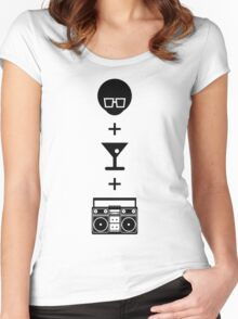 Formula for a Pre-party Women's Fitted Scoop T-Shirt