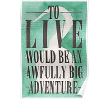 Awfully Big Adventure Poster