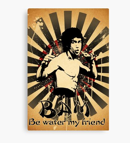 Bruce Lee - Be Water My Friend Canvas Print