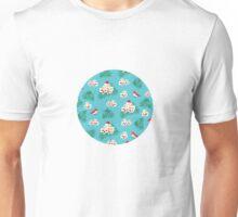 Eternal summer on Blue Unisex T-Shirt