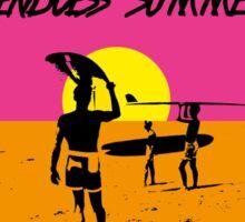 ENDLESS SUMMER SURF MOVIE Sticker