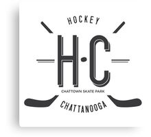 Hockey Chattanooga Canvas Print