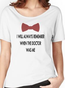 Doctor Who: I Will Always Remember Women's Relaxed Fit T-Shirt