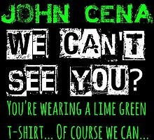John Cena - We Can't See You? Version 2 by FoundOnFilm