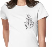 Anchor & Wheel Womens Fitted T-Shirt
