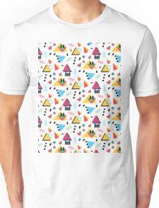 Memphis Style/90s style Unisex T-Shirt