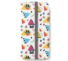 Memphis Style/90s style iPhone Wallet/Case/Skin