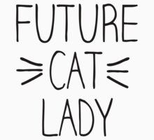 Future Cat Lady Kids Clothes