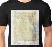 USGS TOPO Map California CA Challenge 289110 1995 24000 geo Unisex T-Shirt
