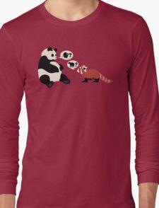 Questioning Pandas Long Sleeve T-Shirt