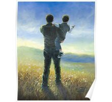 DAD AND ME FATHER AND SON Poster