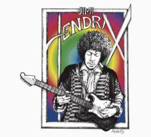 Jimi Hendrix by whiterabbitart