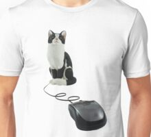 The Cat Who Got The Mouse Unisex T-Shirt