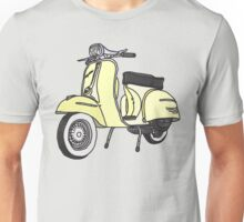 Vespa Illustration - Cream Unisex T-Shirt