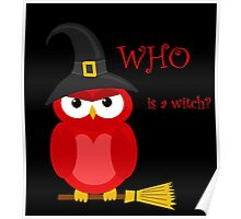 Who is the witch? - red owl Poster